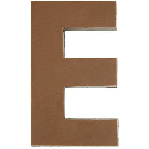 - Philadelphia Candies Solid Milk Chocolate Alphabet Letter E, 1.75 Ounce Novelty Gift