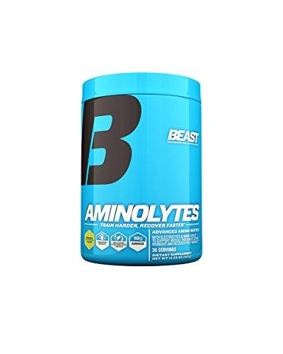 Beast Sports Nutrition, Aminolytes Advanced Amino Matrix, Pineapple, 14.58 Ounce