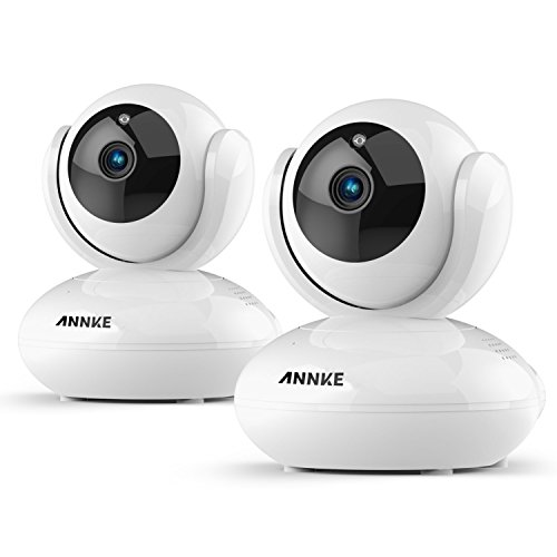 ANNKE 1080P Home IP Camera, Indoor Wireless IP Security Surveillance System with Night Vision for Home / Office / Baby / Pet Monitor with iOS, Android App – Motion Detect,2 Way Audio Talk(Pack of 2) Review