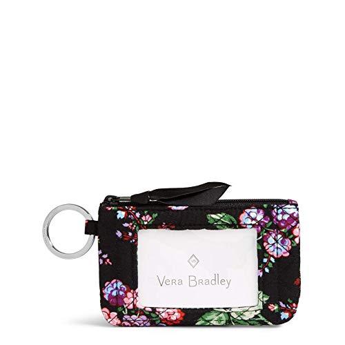 Vera Bradley Women's Iconic Zip Id Case, Winter Berry