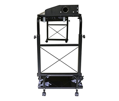 BestValue Go Mobile Overbed Table 55''Laptop Table Cart by BestValue Go (Image #5)