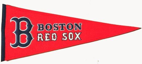 Red Sox Mlb Applique - MLB Boston Red Sox Medium Pennant