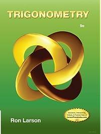 Amazon trigonometry mathematics books by ron larson trigonometry 9th edition 1222012 fandeluxe Choice Image