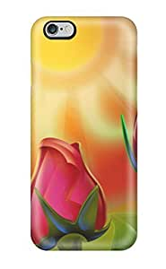 Shock-dirt Proof Flower Art8 Case Cover For Apple Iphone 6 4.7 Inch