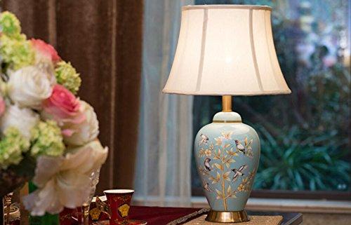 FDH Nachttischlampe Keramiklampen Minimalistischen Schlafzimmer Ideen  Kupfer Stoff Hotels, Hoch 60 Cm 33 Cm