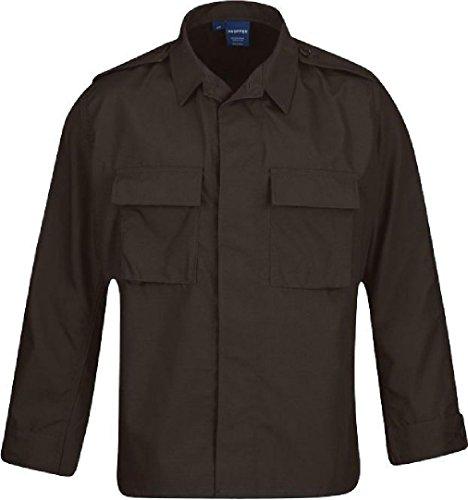 (Men's Brown Tactical Law Enforcement Uniform BDU Coat)