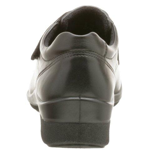 Ecco Femmes Ombre Trois Sangle Velcro Chaussure Noir