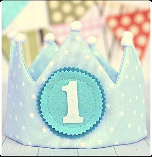 Corona de bebé para cumpleaños infantil, corona príncipe ...
