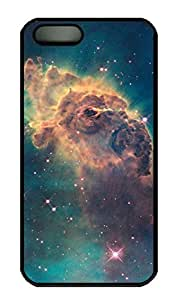 iPhone 5S Case, iPhone 5 Cover, iPhone 5S Nebula By Hubble Hard Black Cases