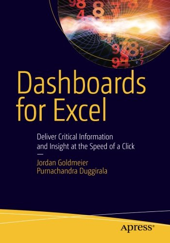 Dashboards for Excel by Apress