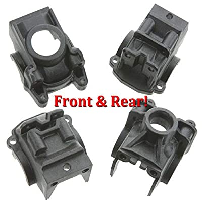 Traxxas 6880 + 6881 Front & Rear Differential Housings for Slash 4x4: Toys & Games