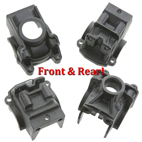 Traxxas 6880 + 6881 Front & Rear Differential Housings for Slash 4x4