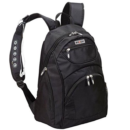 Goodhope G-tech Cyclone Backpack with Control Volume and Headphones Black ()