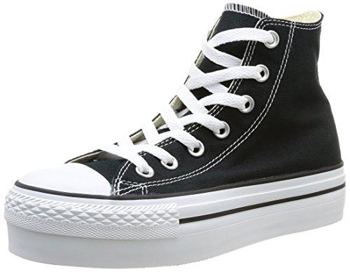Converse Chuck Taylor All Star Hi - Zapatillas Negro (Noir 008)