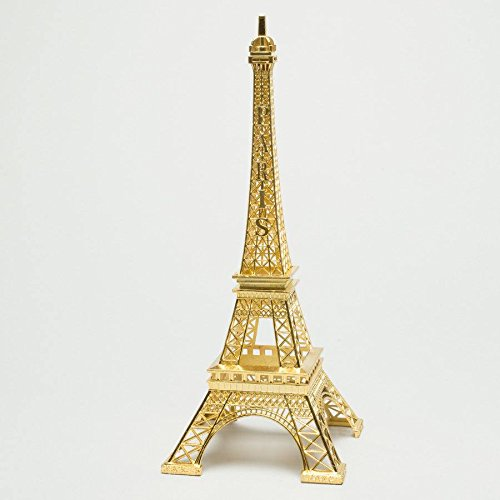 Gold Color Paris Eiffel Tower 10