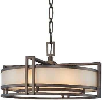 Metropolitan N6963 267B Underscore Collection Pendant, Cimarron Bronze  Finish... By Metropolitan Lighting Fixture Co.