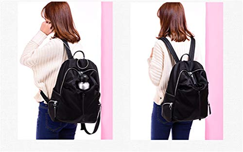 0fdc3149f570 Trend 15 College Shoulder 30 Bag Waterproof 44cm Ladies Capacity Nylon  Cloth Vhvcx Wind Large Student 0qOTTwd