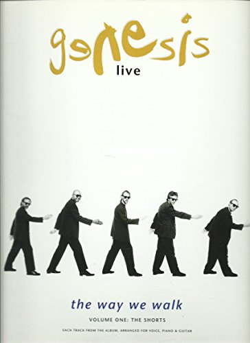 Genesis: Live: the Way We Walk: Volume One: the Shorts [Songbook]