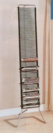 modern-black-silver-metal-finish-dvd-storage-rack-stand