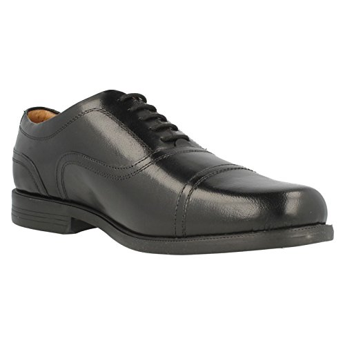 ClarksBeeston Cap - Mocasines hombre Black Leather