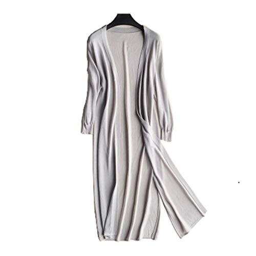 [ティーワイケー] UV カット ロング カーディガン レディース 薄手 七分袖 羽織り ゆったり ベーシック デザイン 紫外線 冷房 対策 トップス