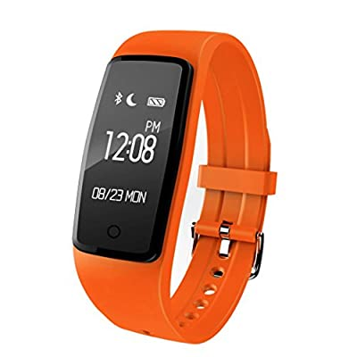 Sinma Orange IP67 Waterproof Smart Bracelet with GPS Anti-lost Sport Data Record