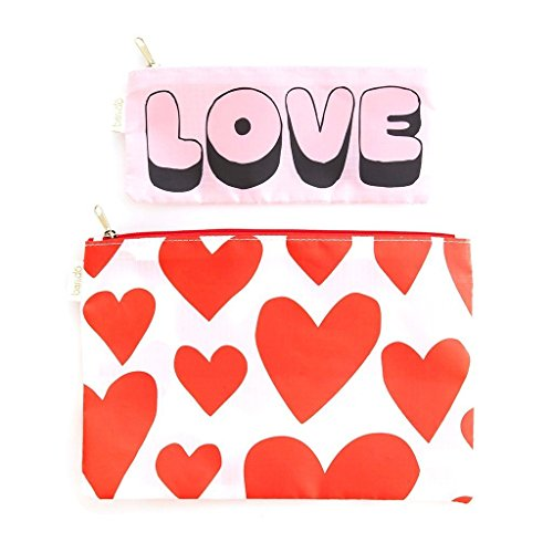 Bag Love do Ban Duo Carryall Clutch Hearts YUUIw