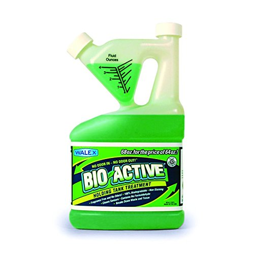Enzyme Active Fragrance (Walex BIO-72268 Bio-Active Holding Tank Deodorizer Tip and Pour Bottle (68 oz.))