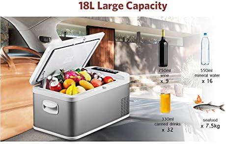 Xljh 18L 45W Refrigerador del Coche Grande Potable Pantalla táctil ...