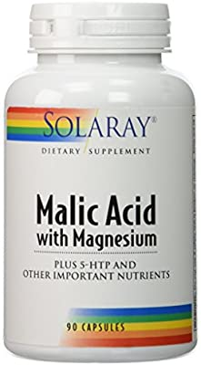 Solaray Malic Acid with Magnesium -- 90 Capsules