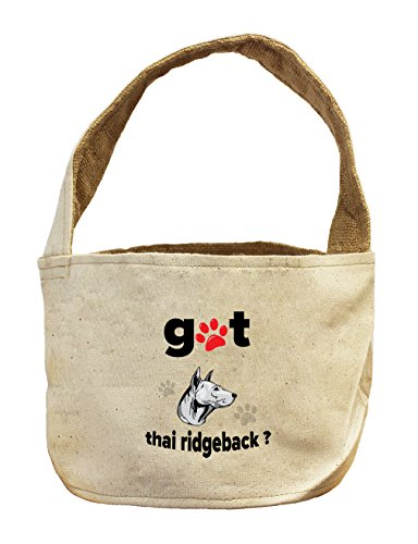 Style in Print Canvas And Burlap Storage Basket Got Thai Ridgeback Dog by Style in Print