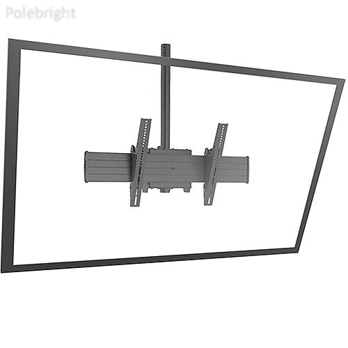 (Chief FUSION X-Large Single Pole Flat Panel Ceiling Mount)