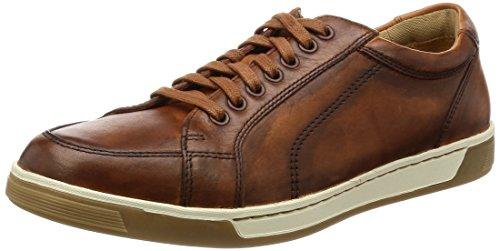 Cole Haan Men's Vartan Sport Oxford Canvas Sneaker, British tan Antique, 11 Medium US
