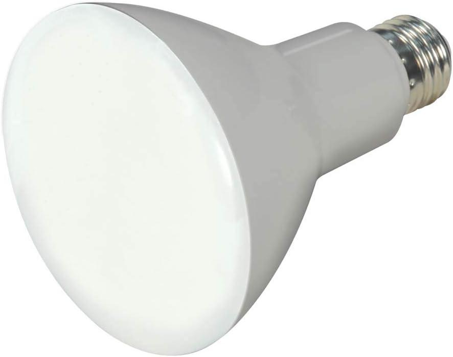 Frosted White Satco S8492 Medium Light Bulb Finish