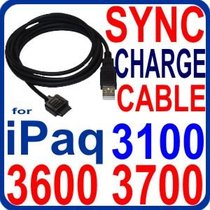 Eurus USB Sync & Charger Cable for iPaq 3100/3130/3155/3150 , 3600/3630/3635/3641/3650/3660 , 3700/3730/3760/3765 Series ()