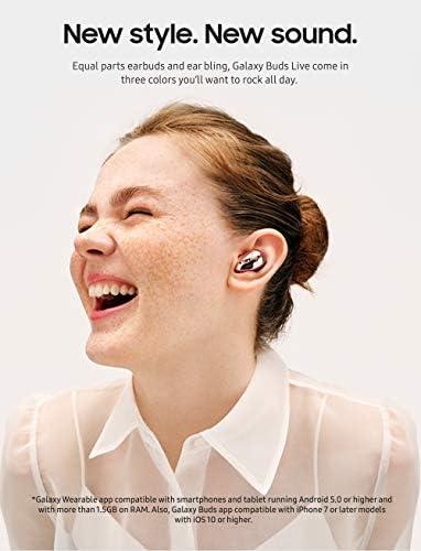 Samsung Galaxy Buds Live, audífonos inalámbricos con cancelación de Ruido Activa (Funda de Carga inalámbrica incluida), Bronce místico (versión de EE. UU.) 5