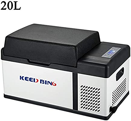 KEED BING Nevera Portatil Compresor Nevera Coche 24V/12V/110-240V ...
