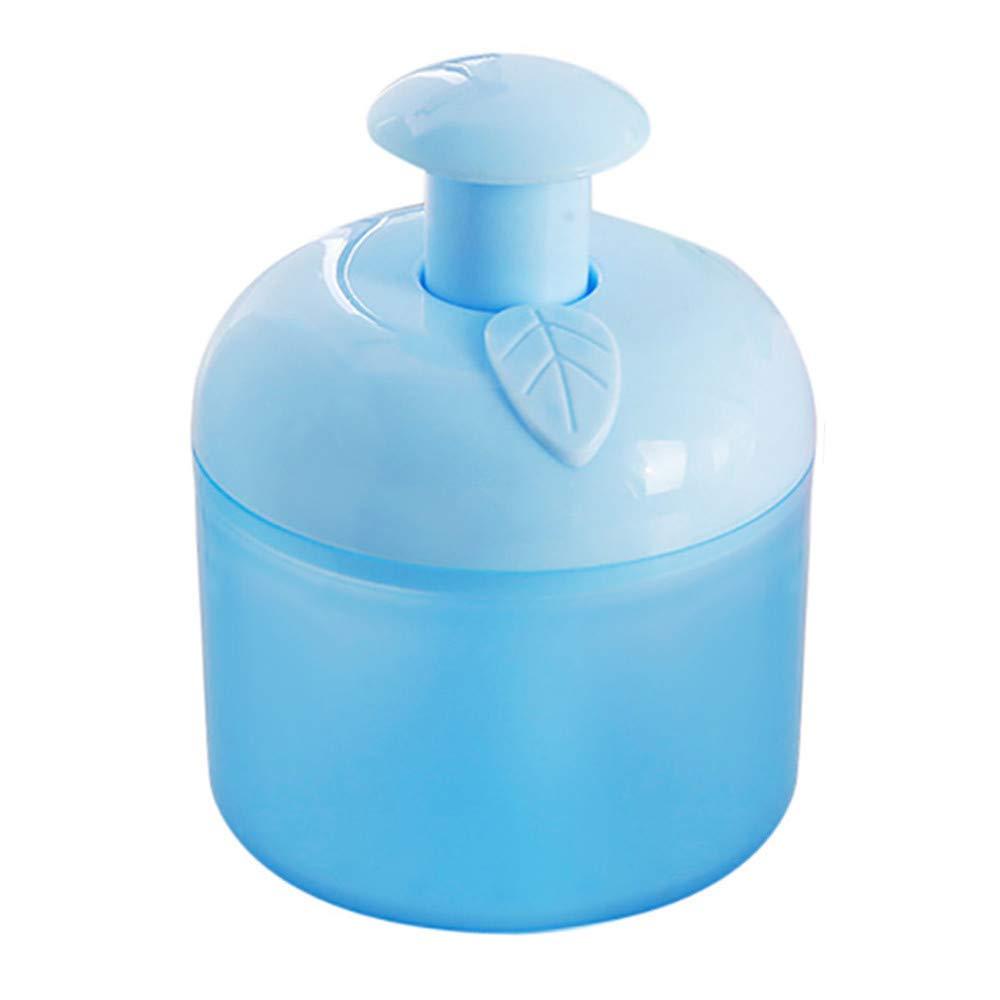 Hongxin Bubble Foamer,1pc Facial Cleanser Shower Gel Bubbler,Creative Design Facial Skin Tool DIY Bubble Foamer (Blue, App 8×8×10.5cm)