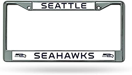 NFL Seattle Seahawks Chrome Plate Frame