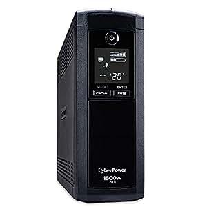 CyberPower CP1500AVR 1500VA 900W Intelligent LCD Series UPS