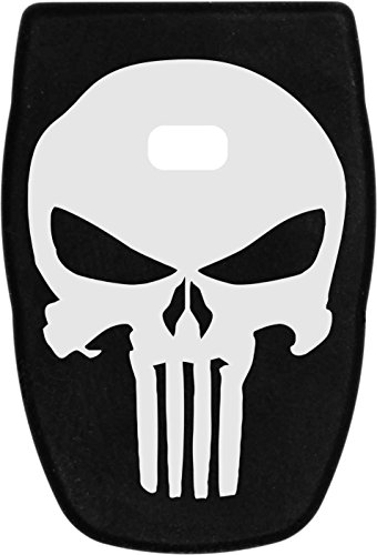 Molon Labe Laser Engraved Magazine Base Plate for Smith and Wesson SD9 VE Pistol - Skull