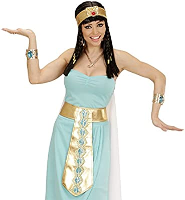 Amakando Cadena Dorada Cleopatra Collar Egipcio Collar de ...
