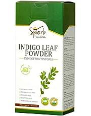 Spierb Indigo Powder for Hair 250 gm - Use with Henna Powder to Color Hair Black Natural Indigo Powder Hair Dye – 100% Pure Indigofera tinctoria Leaf Powder
