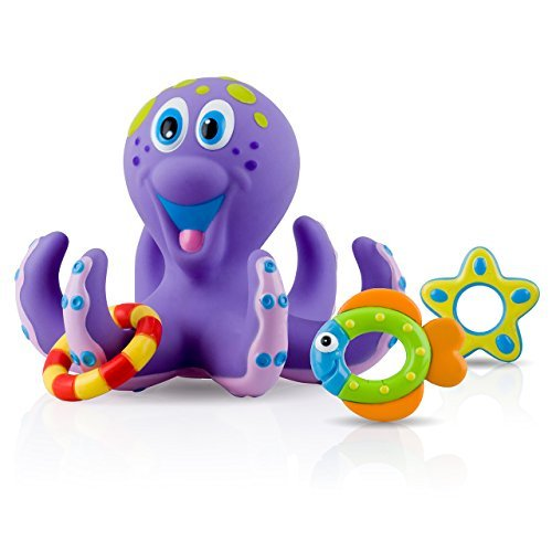 Nuby Octopus Bath Time Toss New Born, Baby, Child, Kid, Infant