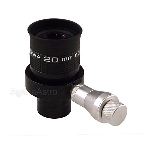 Agena 1.25'' Wireless Illuminated Reticle Eyepiece with Focusable Dual Crosshair - 20mm by Agena AstroProducts