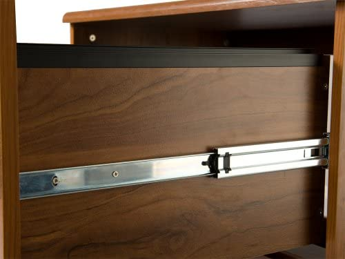 American Furniture Classics 22115 Corner Desk, Large, Autumn Oak