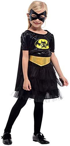 Junpp Traje de Batman niños, Vestido Ropa Niñas Niños de Halloween ...