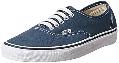Vans Unisex Authentic Sneaker Dark Slate/True White Size 4 M US Men