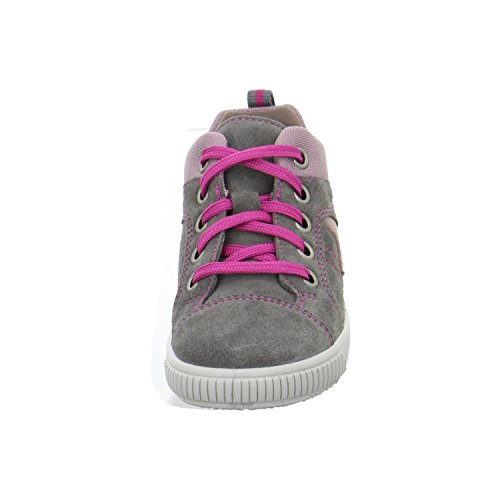 Superfit 7-00353-07 Moppy - Zapatos de primeros pasos de cuero bebé 07°stone multi