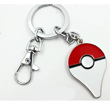 Pokemon Go llavero 4 cm metal bola Poke Pokeball Logo ...